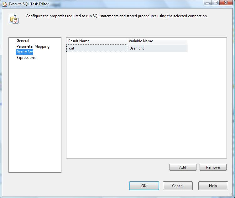 Implement If condition in SSIS package - Reza Rad's Technical blog