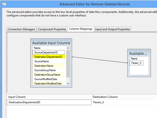 Insert, Update, and Delete Destination table with SSIS