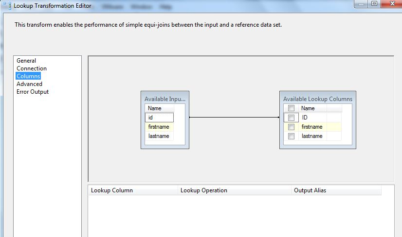 SSIS Upsert With Lookup Transform - Reza Rad's Technical blog